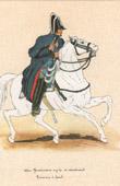 Uniform - French Army under the Restoration - 1830 - Royal Gendarmerie
