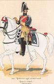 Uniform - French Army under the Restoration - 1824 - Royal Gendarmerie