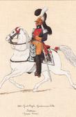 Uniform - French Army under the Restoration - 1824 - Royal Gendarmerie - Gendarmerie d'Elite