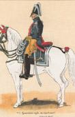 Uniform - French Army under the Restoration - 1819 - Royal Gendarmerie- Lieutenant Colonel