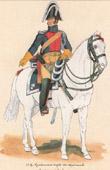 Uniform - French Army under the Restoration - 1819 - Royal Gendarmerie