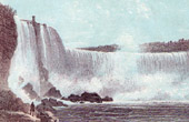 The Niagara Falls - Horse Shoe Fall - Terrapin Tower
