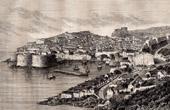 View of Ragusa - Dubrovnik - Plotche (Croatia)