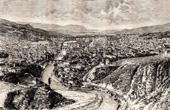 View of Sarajevo (Yugoslavia - Bosnia and Herzegovina)
