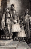 Albanische Typische Kleidung - Albanien