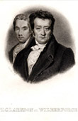 Portrait of Thomas Clarkson et William Wilberforce