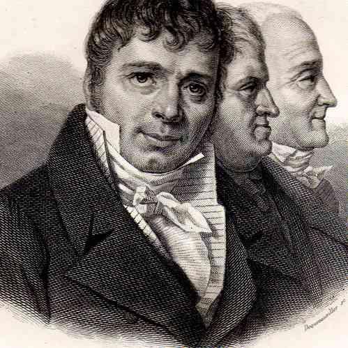 Antique Prints Portrait Of Michel Jacques Boulard 1761
