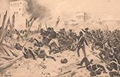 Belagerung von Badajoz - Spanischer Unabhängigkeitskrieg (1812)