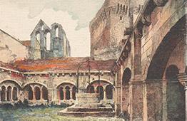 Montmajour Abbey - Steeple - Tower - Arles - Provence-Alpes-Côte d'Azur - Bouches-du-Rhône - Bouches-du-Rhone (France)