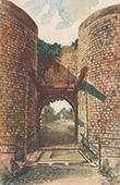 Vue de Douai - Porte d'Arras - Nord (France)
