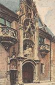 Vue de Nancy - Musée lorrain - Lorraine - Meurthe-et-Moselle (France)