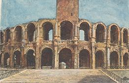 Arena de Arles - Antiguidades Romanas - Bouches-du-Rhone - Bocas do Ródano (França)