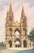 Abbey Saint Jean des Vignes of Soissons - Aisne (France)