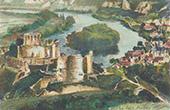 Château Gaillard - Mittelalterliche Festung - Ruine - Les Andelys - Eure (Frankreich)