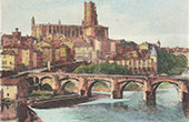 Cathedral of Albi - Pont-Neuf - Tarn (France)