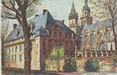 Ansicht von Évreux - Bistum - Eure (Frankreich)
