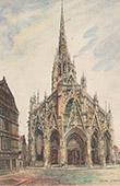 Kirche Saint Maclou von Rouen - Seine-Maritime (Frankreich)