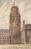Ansicht von Boulogne-sur-Mer - Glockenturm - Pas-de-Calais (Frankreich)