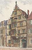 Vista de Colmar - Maison des Têtes - Alsacia - Alto Rin (Francia)