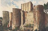 Schloss von Loches - Donjon - Indre-et-Loire (Frankreich)