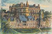 Castle - Château d'Amboise - Indre-et-Loire (France)