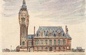 View of Calais - City Hall - Pas-de-Calais (France)