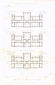 Architect's Drawing - Psychiatric hospital Sainte-Anne in Paris (Charles-Auguste Questel)