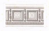 Dibujo de Arquitecto - Castillo de Saint-Roch - Tarn-et-Garonne - Francia (Edmond Lechevallier-Chevignard)