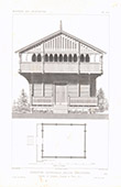 Architect's Drawing - Norwegian house - Northern Europe (Norway)