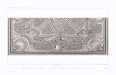Architect's Drawing - Decoration of a Ceiling - XVIIIth Century (Italy)