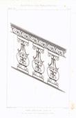 Dibujo de Arquitecto - Herrería - Escalera Luis XV de Francia (Francia)