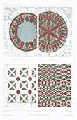 Architect's Drawing - Mosaic tessellation - Rome (Italy)