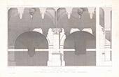 Architect's Drawing - Castle of Azay-le-Rideau - Indre-et-Loire (France)
