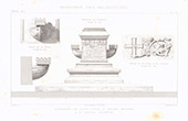 Architect's Drawing - Statue of Saint Louis - Aigues-Mortes - Gard - France (Charles Questel)