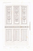 Architect's Drawing - Church in Dieppe - Seine-Maritime (France)