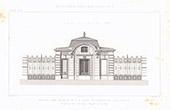 Dessin d'Architecte - Maison - Rue Murillo - Paris (M. Tronquois Architecte)