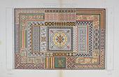 Architektenzeichnung - Mosaik (Mazzioli und Del Turco)