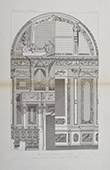 Architect's Drawing - Decoration - Church -  Italian School - XVIIIth Century