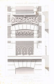 Architect's Drawing - House in Lille - North - France (A. Vandenbergh)