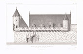 Architect's Drawing - City Hall - La Rochelle - Charente-Maritime (France)
