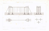 Architect's Drawing - Gymnasium - Portico (M. Meurant)