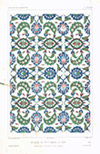 Architect's Drawing - Sitty Zaynab Mosque - Sayyida Zeinab - Faience - Cairo (Egypt)