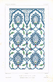 Architect's Drawing - Birkat-al-Fil Palace - Faience - Cairo (Egypt)