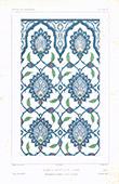 Architect's Drawing - Birkat-al-Fil Palace - Faience - Cairo (Egypt)