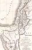 Karte von Promised Land - Kanaan (Frémin)