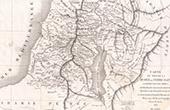 Alte Plan von Südlich Judäa oder Heiliges Land (Frémin)