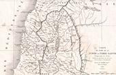 Alte Plan von Nord Judäa oder Heiliges Land (Frémin)