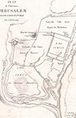 Plano da Antiga Jerusalém (Frémin)