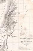 Antique map of the Kingdom of Israel - Monarchy of Hebrews - Solomon (Frémin)