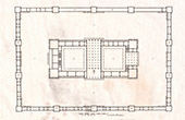 Plan - Palace - Lebanon Cedar - Solomon (P. Lami)